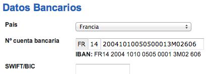 Facturadirecta for Codigos oficinas bancarias