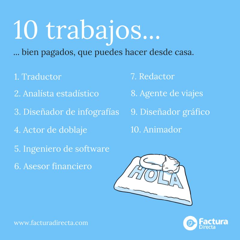 Facturadirecta trabajo desde casa 10 trabajos bien - Hacer trabajos en casa boligrafos ...